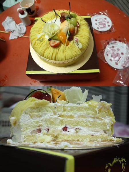歐貝拉~栗子蛋糕