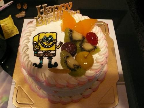 宜澄滿週歲的蛋糕