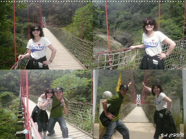 南投竹山玉福吊橋