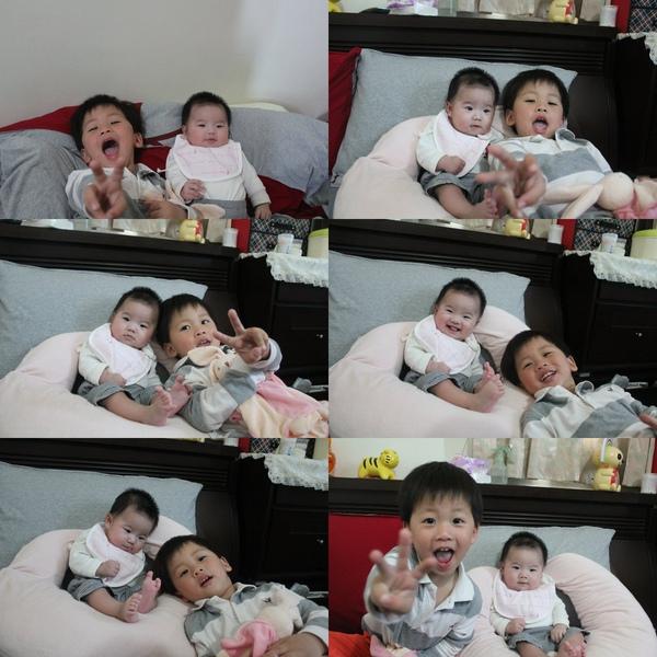 宜澄哥哥與妹妹合照