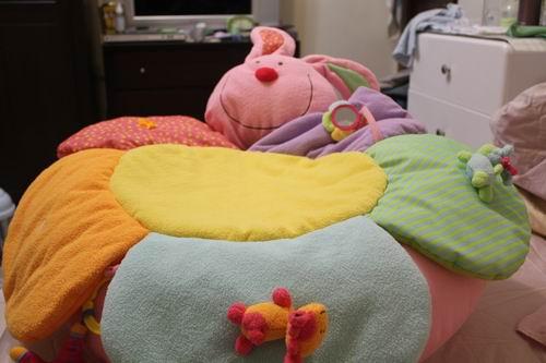 小兔兔沙發躺床