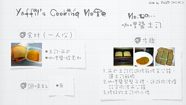 YaffilCookingNote-早餐.001
