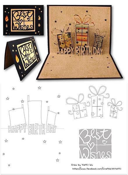 birthday gift popup card2