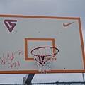 carter簽名籃板