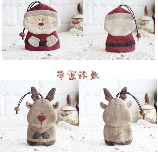 聖誕+麋鹿彩圖