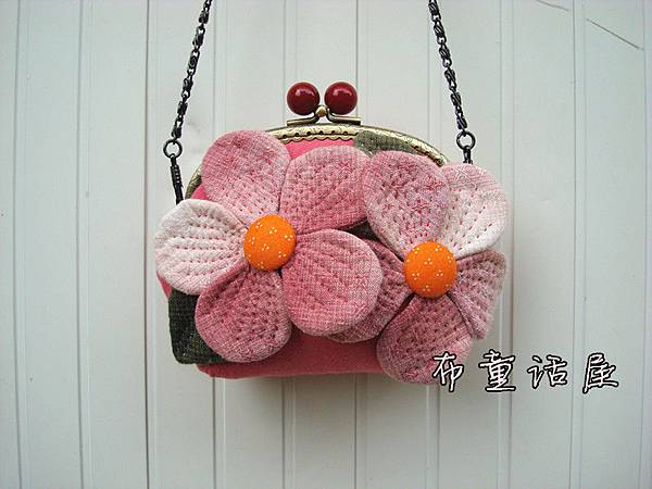櫻花口金包1