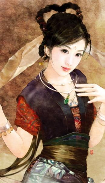 古典美女圖