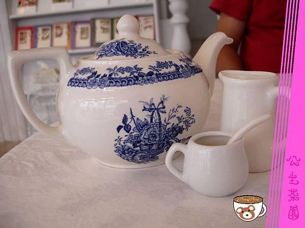 茶具(糖奶)