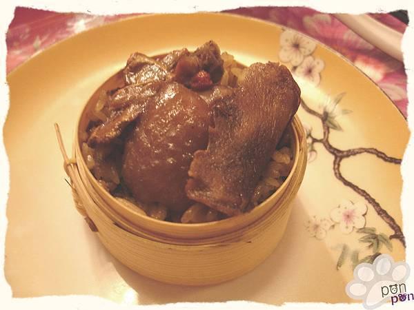麻油雞米糕