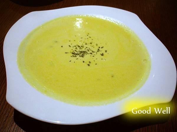 藍紋乳酪南瓜濃湯