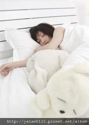 8.每天都能踏實地睡個好覺.