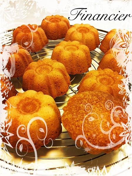 費南雪蛋糕(フィナンシェ)