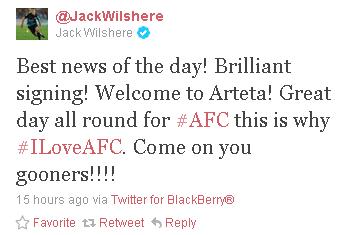 Jack Wilshere  JackWilshere  on Twitter2.png