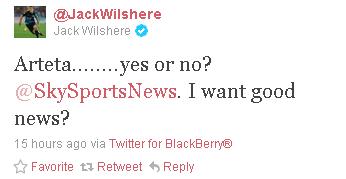 Jack Wilshere  JackWilshere  on Twitter3.png