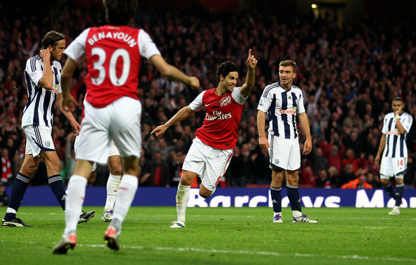 Arsenal+v+West+Bromwich