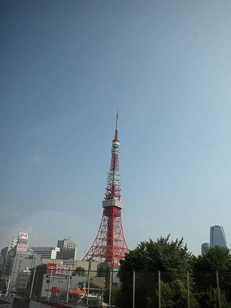 東京鐵塔(今天天氣不錯)
