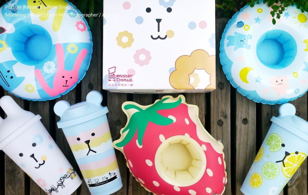 Mister Donut x CRAFTHOLIC宇宙人聯名商品