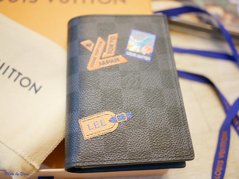 LV護照套客製化P1140554