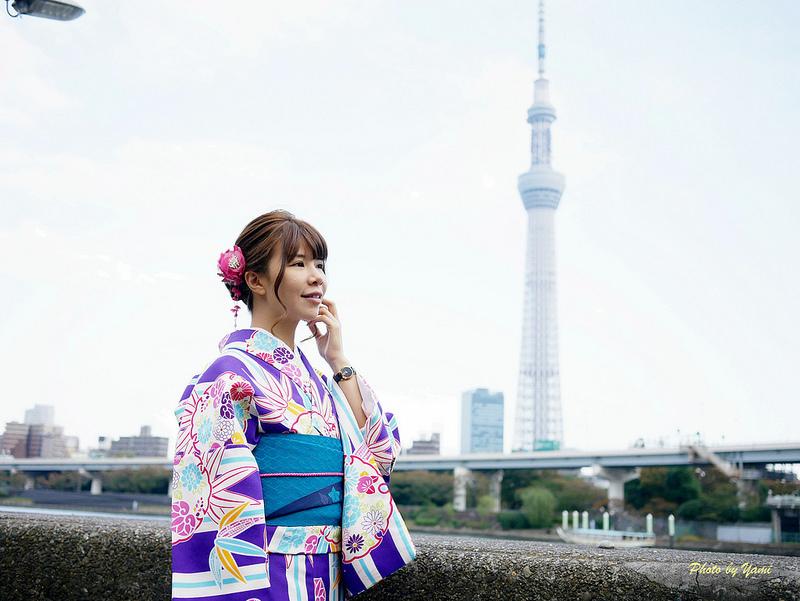 日本和服體驗東京淺草愛和服日本東京和服P1140923