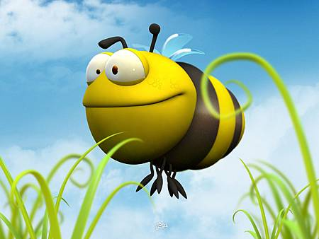 [wall001_com]_funny_3d_animal_wallpaper_00Bee_by_nicobou.jpg