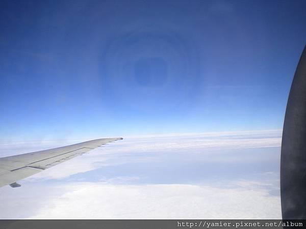 3萬英呎高空雲平線