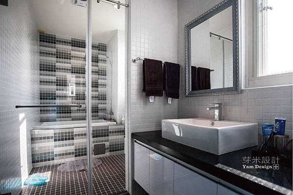 馬賽克拼磚,浴室裝潢
