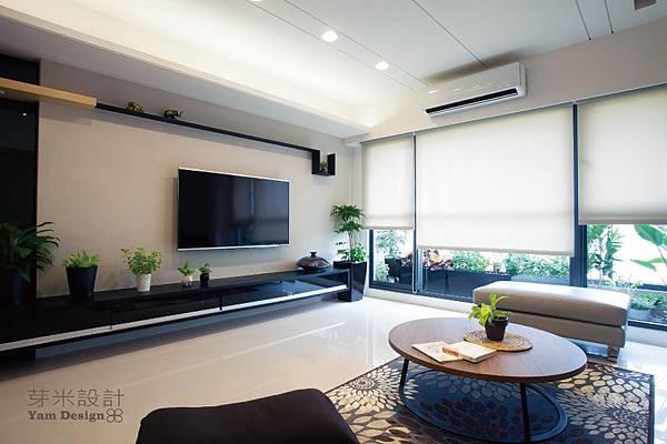 客廳設計,台中室內設計