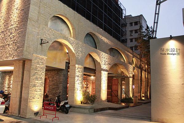 古羅馬城堡餐廳建築巡禮