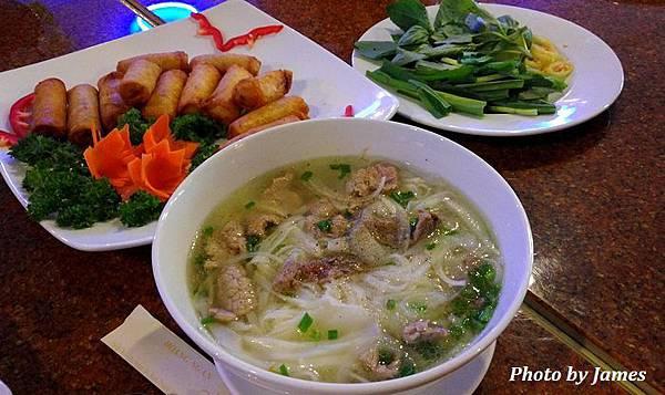 胡志明市午餐