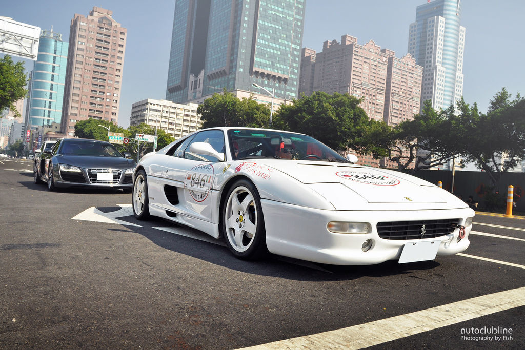 Ferrari 6th Rally Taiwan