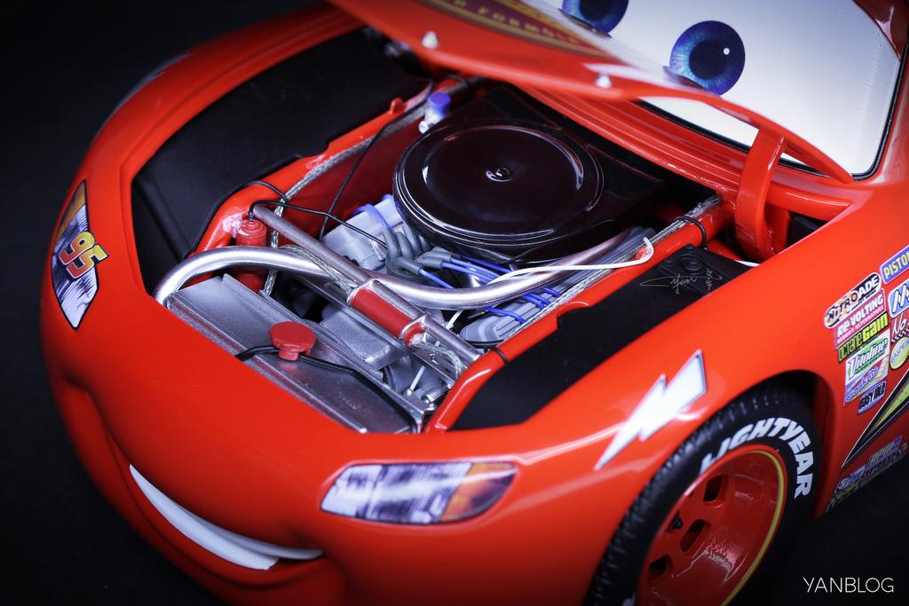 Lightning McQueen 1:18 Schuco