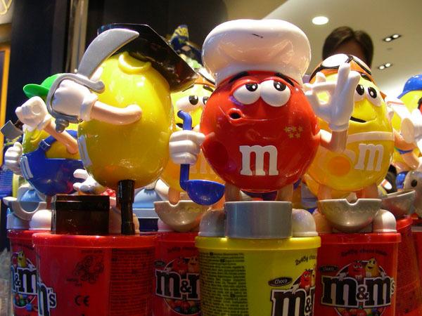 台灣機場的五星M&M