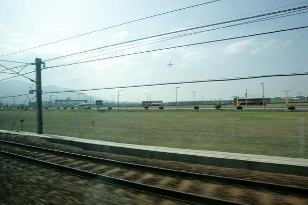 機場快線風景之二