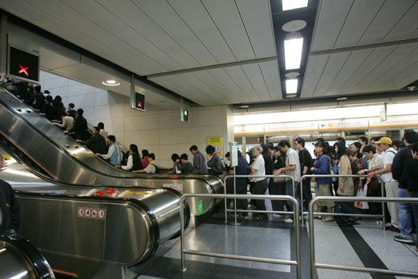 香港站出口