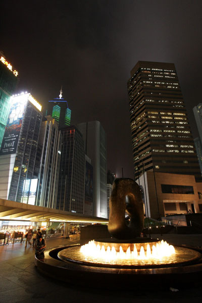 香港街景之IFC