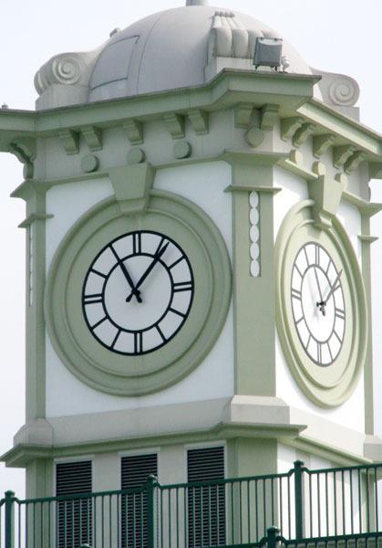 中環碼頭的鐘