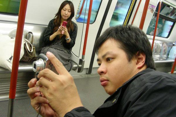 豪哥和香港靚妹