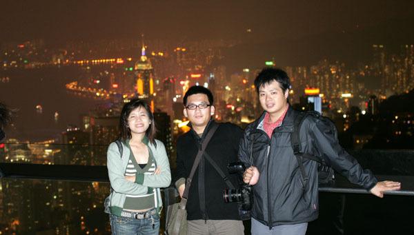 太平山上夜景之三