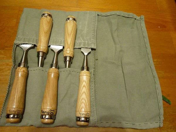 自製鑿刀袋