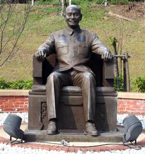 先總統 蔣公銅像
