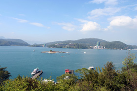 玄光寺遠眺拉魯島
