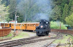 沼平線蒸汽火車