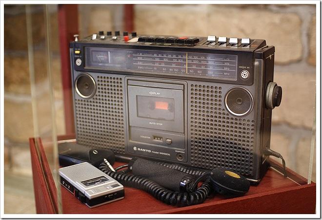老式收音機