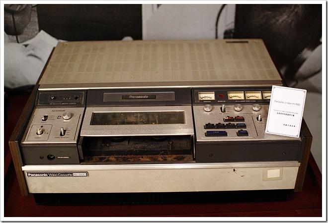 老式錄放影機