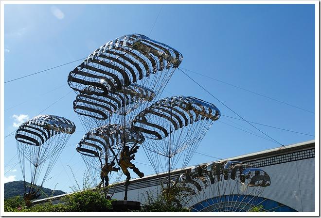 人間系列降落傘