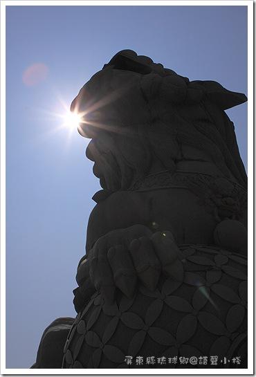 福安宮前的大獅