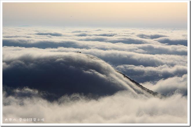 大屯山雲海