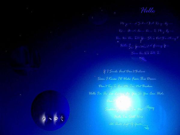 想念 想念著你 是否合我仰望同樣燦爛的星空