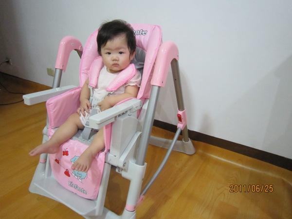 Smile 餐椅 20110625_4.JPG