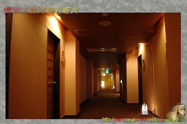 天童溫泉飯店 一樂 房間外走道.jpg